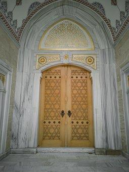 Door, Detail, Cami, Islam, Old, Texture, Introduction