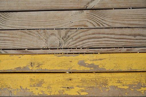 Wood-fibre Boards, Parquet, Painted, Background