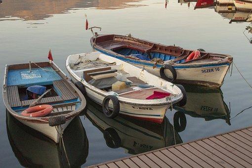 Boat, Marine, Fisherman, Iskele, Shovel, Water