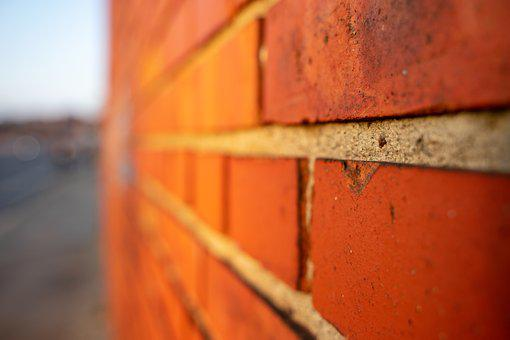 Brick, Red, Wall, Background, Texture, Facade, Old