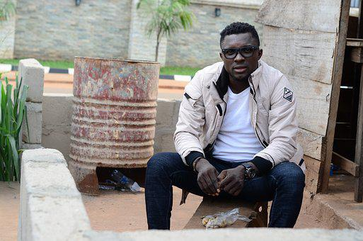 Man, Africa, Jacket, Project, Human, Development