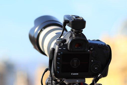 Canon Camera, Dslr, Photography, Technology