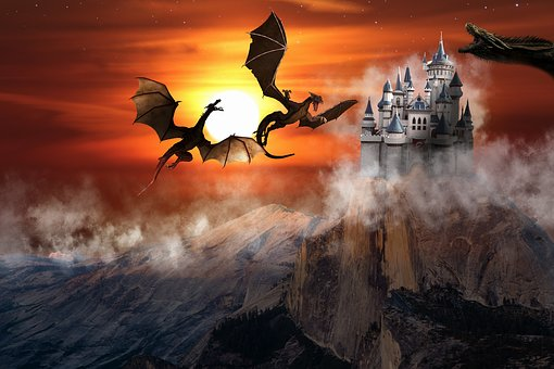 Dragon, Fantasy, Monster, Magic, Fairy Tale, Forest