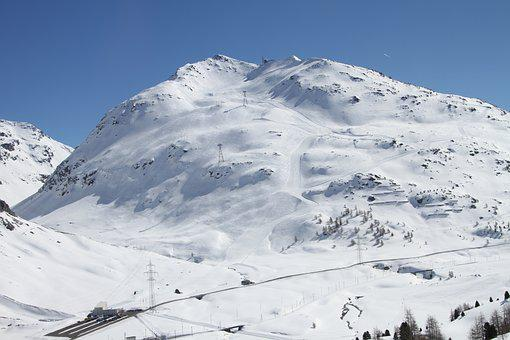 Lagalb, Bernina, Switzerland, Snow, Winter