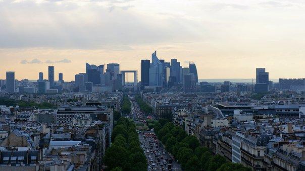 City, View, Architecture, Landscape, Modern, Travel