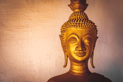 Laos, Temple, City, Asia, Buddhist, Travel, Background