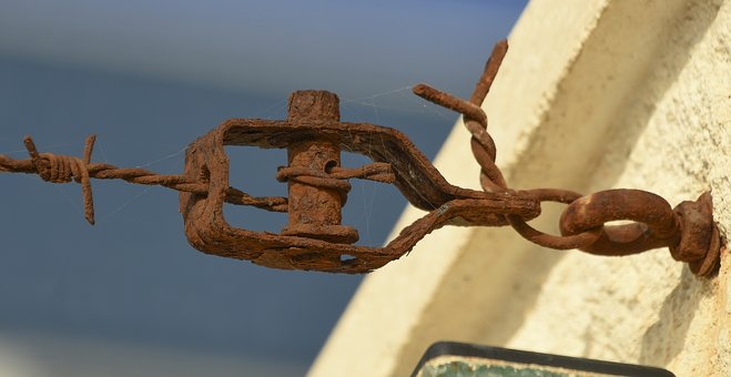 Oxide, Wire, Fence, Rusty, Rust, Metal