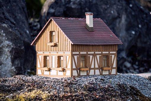 House, Miniature, Small, Decoration, Truss, Craft