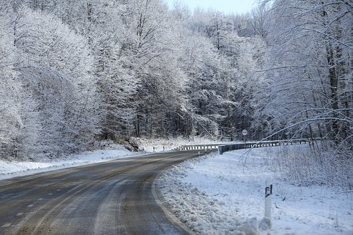 Snow, Road, Winter, Landscape, Trees, Cold, Nature