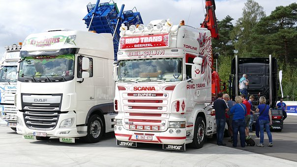 Truck, Europe, Vehicle, Outdoor, Scania, Show