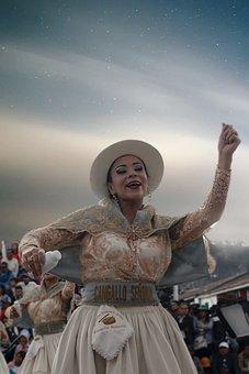 Portrait, Ayacucho, Carnival, Dance, Joy, Peru