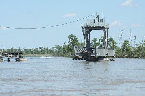 Mobile Alabama, River, Delta, Railroad