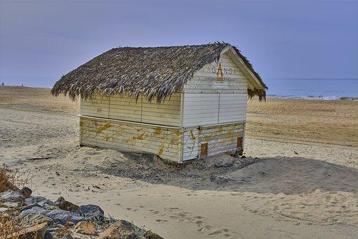 Beach, Poolside Snack Bar, Sea, Andalusia, Matalascañas