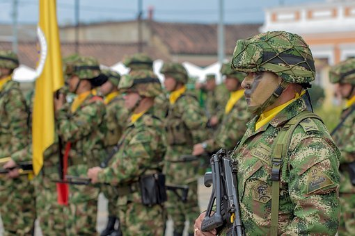 Bogota, Colombia, Soldier, Platoon