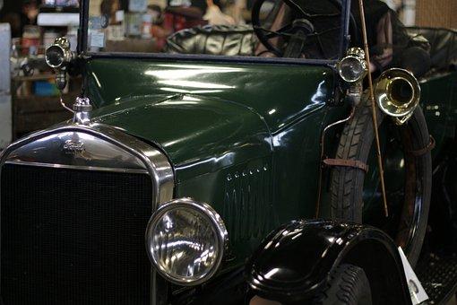 Ford, Car, Vintage, Angers, Sorétro