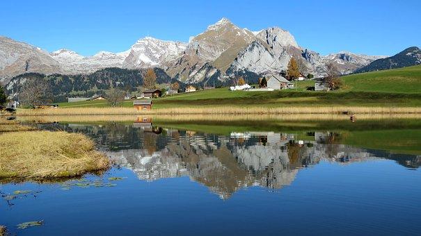 Landscape, Nature, Switzerland, Toggenburg, Mountains