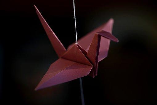 Origami, Crane, Luck, Symbol Of Good Luck