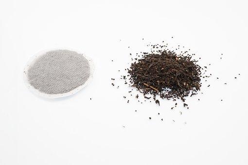 Tea, Teabag, Black, Broken, Leaves, Loose, Dried