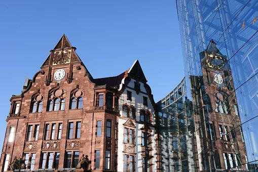 Dortmund, Downtown, Town Home, Architecture
