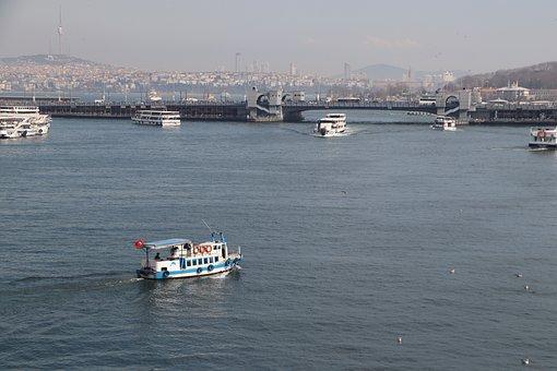 Ship, Boat, Transportation, Travel, Marine, Istanbul