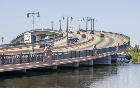 Halifax, River, Speedway, Bridge, Blue River