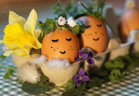 Easter, Eggs, Decoration, Spring, Easter Time, Merry