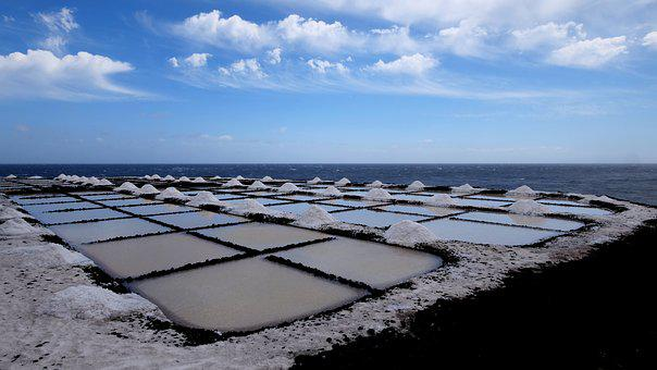 Saline, Sea Salt Extraction, Fuencaliente, Salt