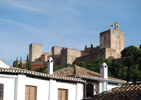Contrasts, Window, Albaycin, Granada