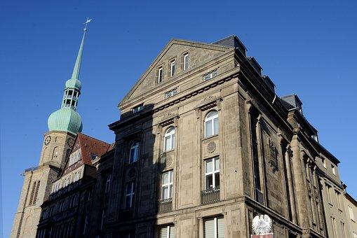 Dortmund, City, Center, Reinoldi Church, Old Market