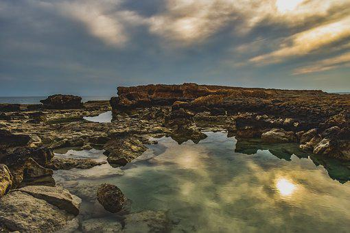 Rocky Coast, Beach, Rock, Landscape, Nature, Scenery