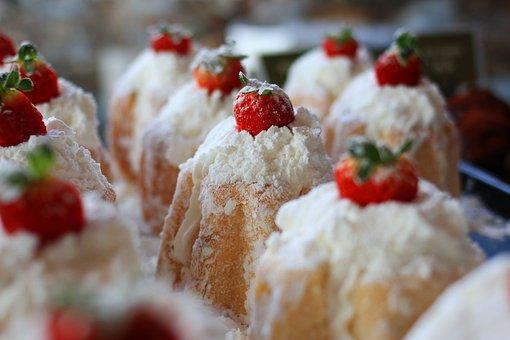 Bakery, Ornament, Strawberry, Sweet