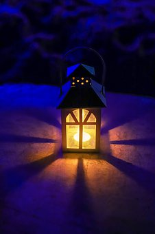 Lamp, Warm Colors, Night Light, Warm And Cold Color