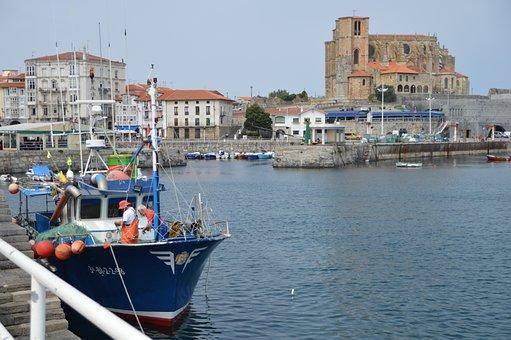 Port, Spain, Basque Country, Basque, Costa, Europe, Sea