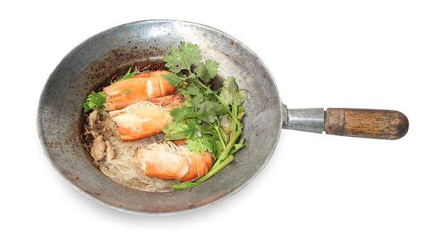 Food Pot, Shrimp Vermicelli, Food, Casserole