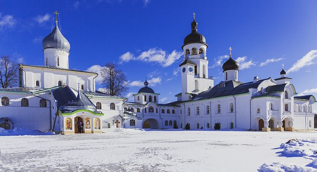 Monastery, Krypetsky Monastery, Cathedral, Holy Places