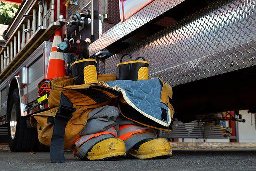 Boots, Pant, Firefighter, Fire, Team, Protection, Pants