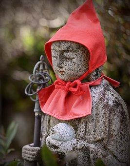 Jizo, Japan, Guardian Deity Of Children, Traditional