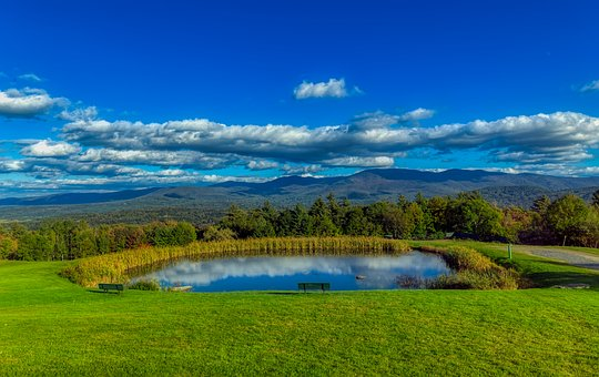 Vermont, Mountains, Landscape, New England, America