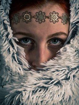 Woman, Eyes, Facial, Portrait, Beauty, Watch, Fashion