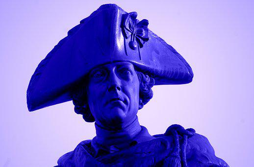 Frederick The Great, King, Prussia, Statue