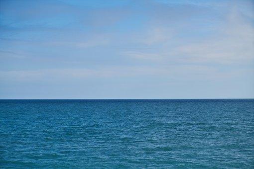 Marine, Ocean, Water, Wave, Nature, Beach, Blue, Sky