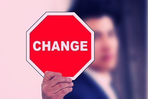 Hand, Man, Change, New Beginning, Switch, Road Sign