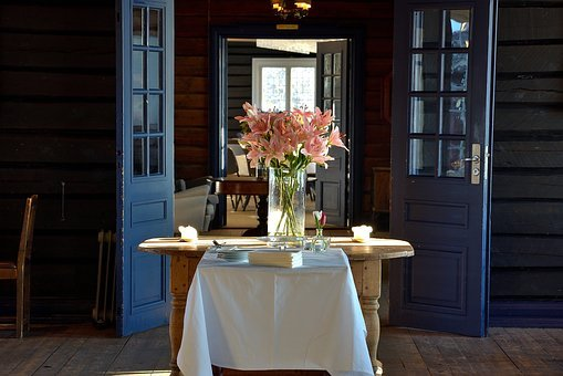 Old, House, Flowers, Fantasy, Cottage, Wedding, Home