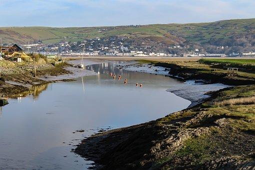 Aberdovey, Wales, Coast, Sea, Seascape, Landscape