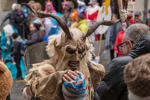 Carnival Parade, Carnival, Mask, Switzerland, Bern