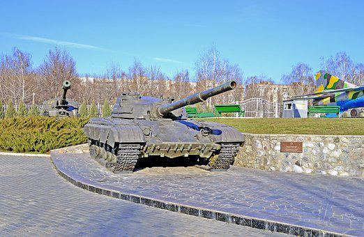Defender Of The Fatherland, Tank, Monument, War, Army