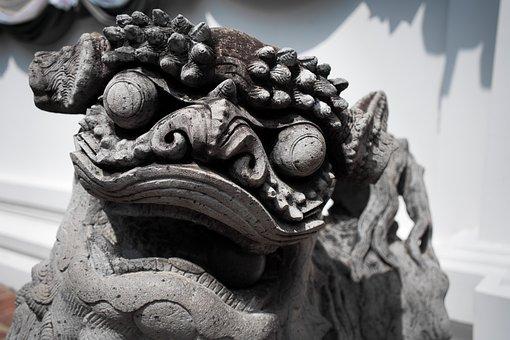Bangkok, Day, Animal, Thailand, Travel, Dog, Dragon