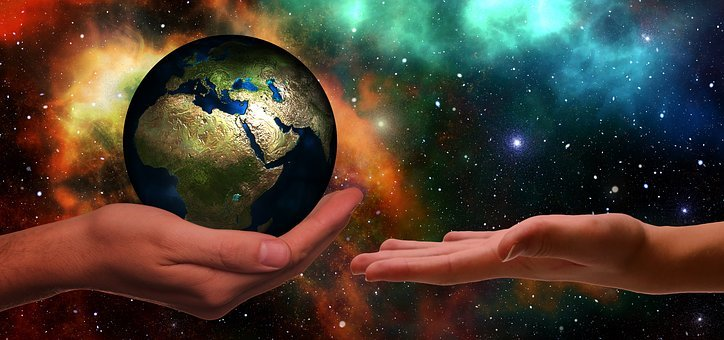 Hands, Earth, Next Generation, Climate Protection