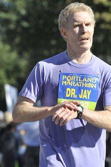 Marathon, Runner, Finish, Success, Timing