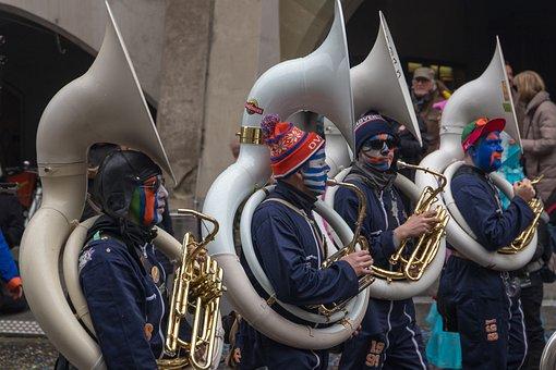 Music, Guggen, Carnival Parade, Carnival, Mask